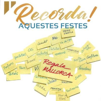 Imagen promocional de la campaña 'Regala Mallorca'.