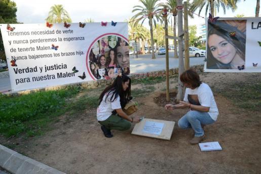 Imagen de archivo de otra concentración por la desaparición de Malén Ortiz.