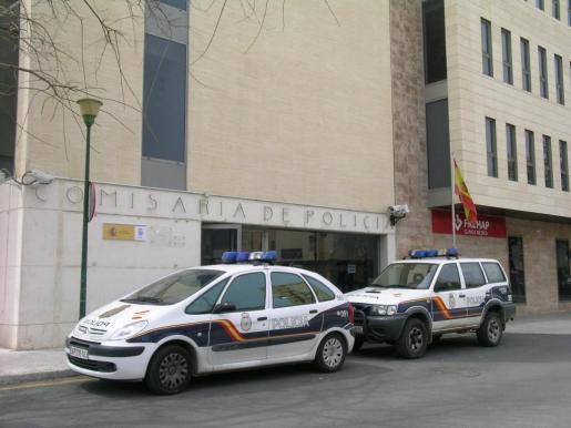 Imagen de la comisaría de la Policía Nacional en Manacor.