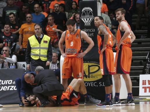 El mallorquín se lesionó este jueves en el encuentro que enfrentó a su equipo con el Olympiacos.