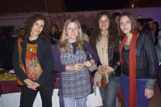 Margalida Forteza, Ana Rovira, Belén Gradés y Laia Galcerán.
