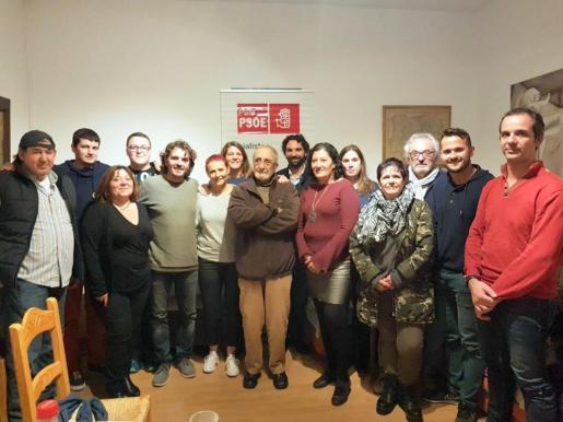 Joan Aznar ha sido elegido por los militantes nuevo secretario general de la Agrupación Socialista de Felanitx.