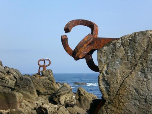 Peines del viento. Chillida. San Sebastián. 2013.