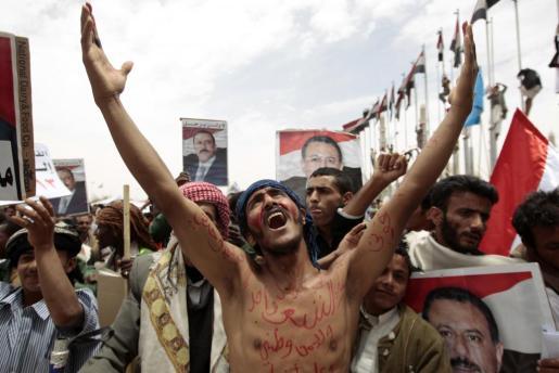 Alí Abdulá Salé fue uno de los pocos líderes que sobrevivió a las revueltas de la llamada 'Primavera árabe'.