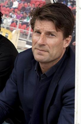 El entrenador del RCD Mallorca, el danés Michael Laudrup.