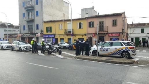 La Policía Local de Palma desplegó un amplio dispositivo tras las denuncias de los vecinos.