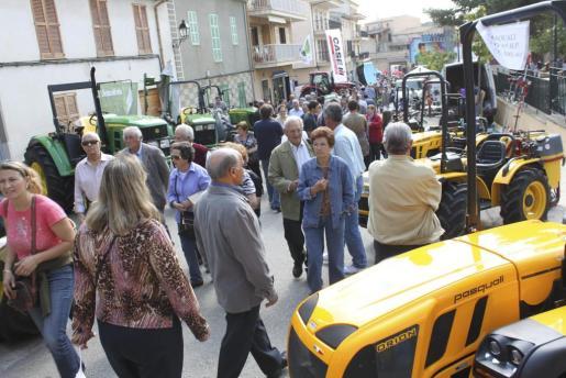 Miles de personas se acercaron ayer hasta el municipio para vivir una de las ferias más importantes de Mallorca