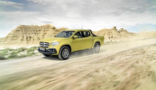 El nuevo pick-up de Mercedes Benz combina capacidad y estilo de vida en un solo vehículo.