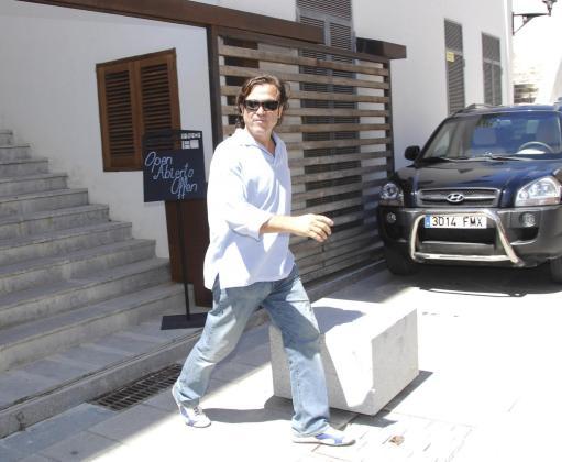 Imagen de archivo de Pepe Navarro, durante sus vacaciones en Ibiza.