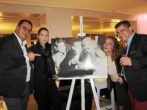 Juan Carlos Enrique, Katja Dalmau, Sylvia Riera y Alberto Hernández.