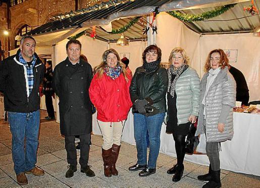 Juan Andrés Casasnovas, Jesús Coll, Claudia Suárez, Begoña Carrasco, Carmen Carreras y María de Pedro.