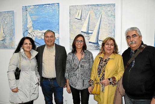 Marisol Korkis, Jorge Azri, África Juan, Montserrat Geli y Miguel Roca.