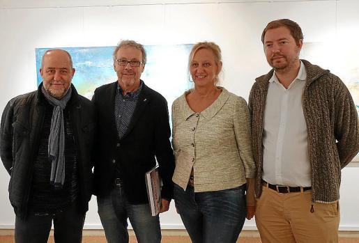 Joan Francesc Canyelles, Luis Maraver, Doris Duschelbauer y Josep Ramis.