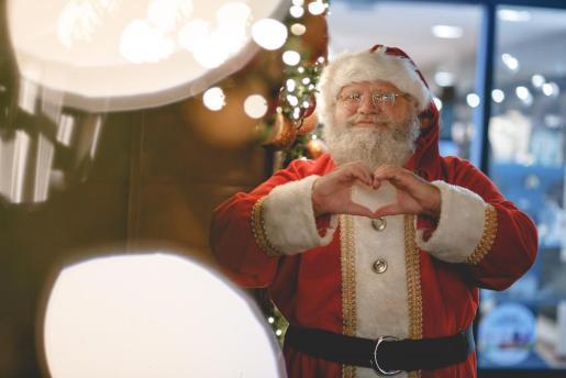 La llegada de Papá Noel es una de los acontecimientos más esperados por los niños.