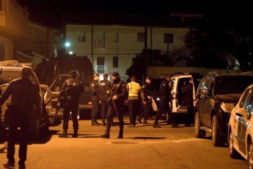 El operativo desplegado por la Guardia Civil en Andorra.