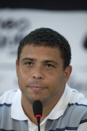 El exjugador de fútbol Ronaldo Nazario de Lima.