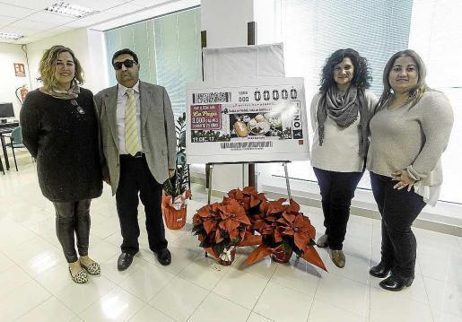 Imagen de la presentación que tuvo lugar ayer en la sede de la ONCE.