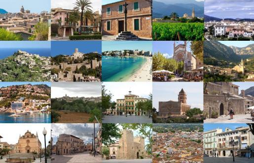 Pueblos de Mallorca
