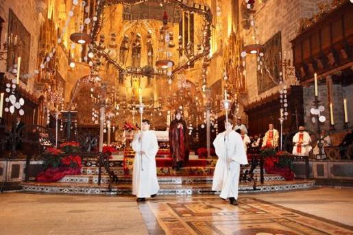 La Catedral de Mallorca acoge el tradicional 'Cant de la Sibil·la'.