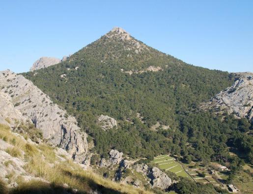 Imagen de la Serra de la Tramuntana.