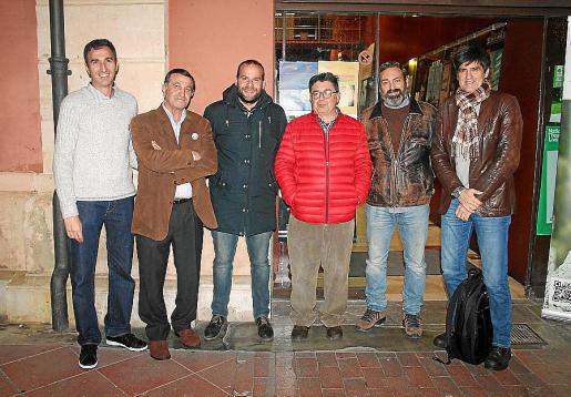 Javier Álvarez, Toni Mas, Miquel Mir, Joan Mayol, Rubén Casas y Joan Monse.