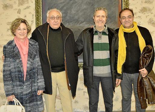 Maria Vich, Guillem Llabrés, Llorenç Ferragut y Miquel Segura.