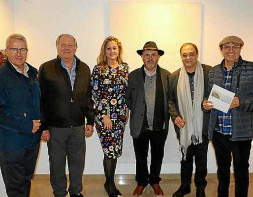 Antoni Oliver, Antonio Roca, Rosa Vanrell, Lluís López, Miquel Segura y Anthel Blau.
