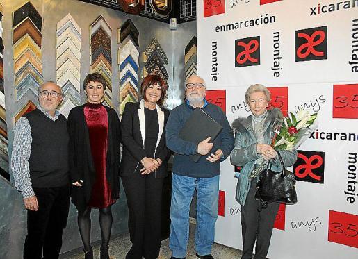 Félix Comas, Natalia Comas, Ana Mayans, Juan Carlos Tessone y María Vich.