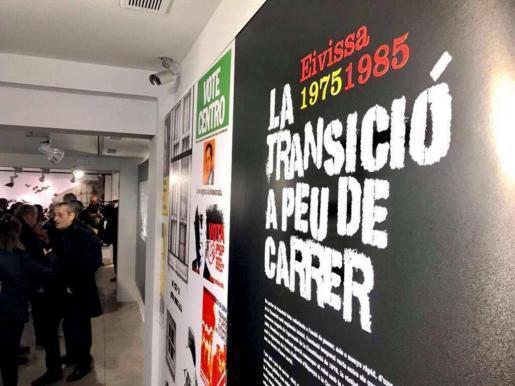 El cartel que da la bienvenida a los visitantes de Sa Nostra Sala.