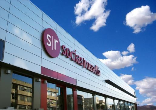 Imagen del exterior de la tienda de Socías y Roselló.