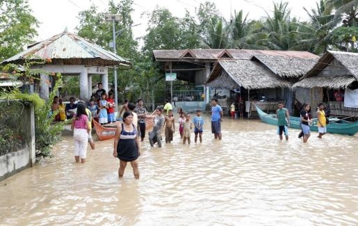 La tormenta Tembin ha anegado numerosas zonas del sur de Filipinas.