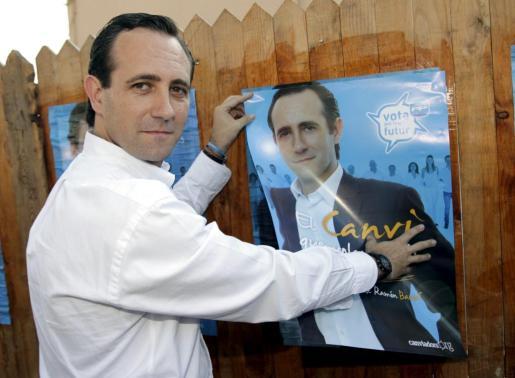 José Ramón Bauzá, candidato del PP al Parlament.