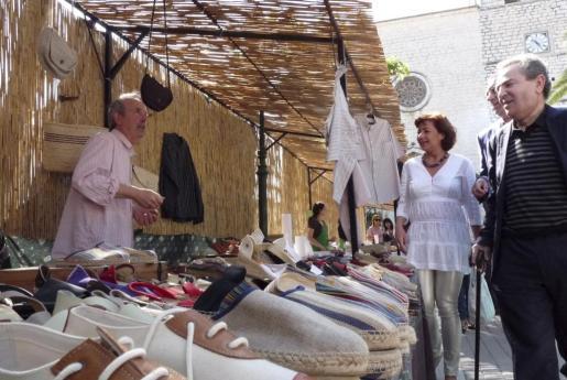 La artesanía ocupa un lugar destacado en la Fira de Campanet.