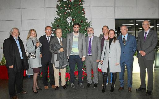 Raúl Izquierdo, Águeda Ropero, José Escalas, Joan Gual de Torrella, Antoni Noguera, Juan Carlos Plaza, Miguel Félix Chicón, Beatriz Orejudo, Miquel Puigserver y Pedro Comas.