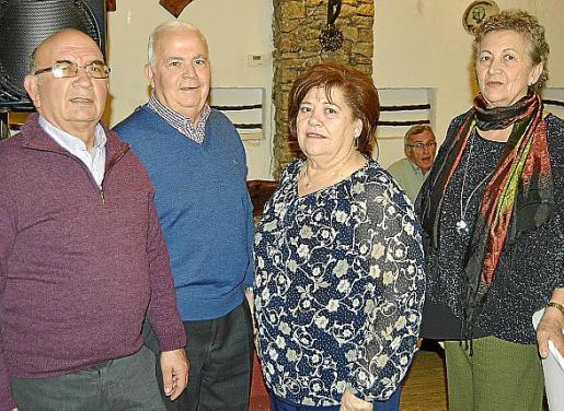 Gabriel Bennàssar, Jaume Capó, Maria Payeras y Joana Terrassa.