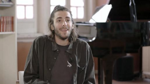 Imagen de archivo del cantante portugués Salvador Sobral.
