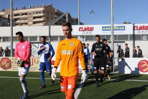 Carl, durante el último partido del año ante el Ebro.