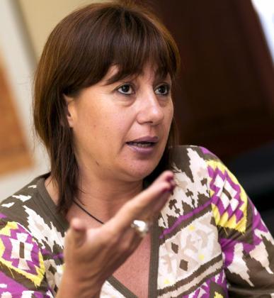 La candidata del PSIB al Consell de Mallorca, Francina Armengol.   ESPAÑA-BAL-ELECCIONES CONSELLS/MALLORCA