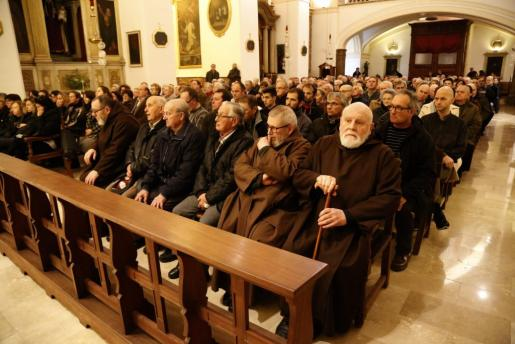 Valldemossa despidió al ermitaño Benet.