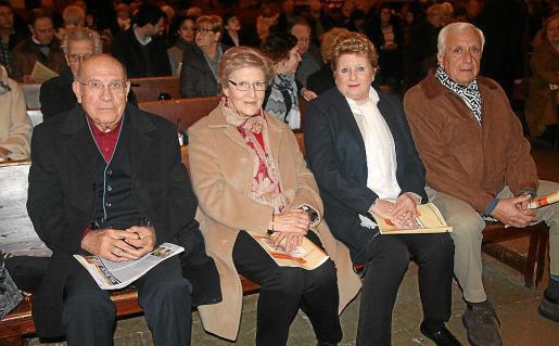 Antoni Lliteres, Irene Mas, Joan Miquel Muñoz, Irina Capriles y José Mena.