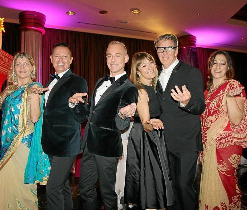 Lidia Domínguez, Fernando Reyes, Max Bellán, Susanna Mander, Peter Onnenberger y Rosa Ruiz.