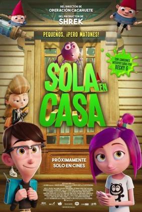 Cartel de la película 'Sola en casa '.