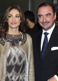 Carlos Herrera y Marilo Montero, en una imagen de archivo.