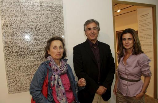 Irus Hansma, Rogelio Araújo y María Blanco.