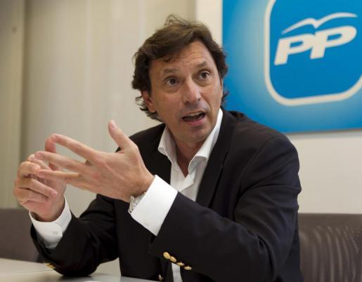 El candidato del PP a la alcaldía de Palma, Mateu Isern.