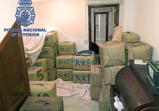 Los detenidos conformaban un grupo criminal especializado en transportar hachís desde Marruecos hasta España