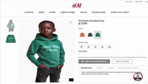 La imagen de este niño con la sudadera con el lema 'el mono más chulo de la jungla' ha sido la que ha disparado la polémica.