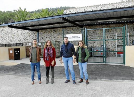 El Punt Verd de Mancor es el primero de toda Mallorca en obtener la inspección favorable de Residuo.