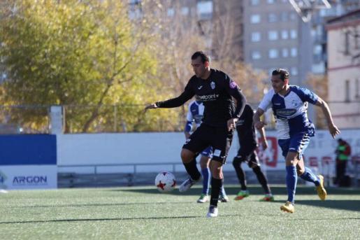 Álvaro solo había disputado cuatro encuentros como titular durante la primera vuelta del campeonato contabilizando un único tanto.