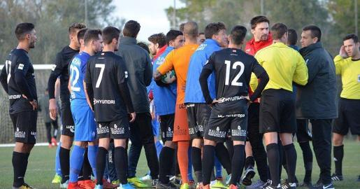 Una pelea entre jugadores obliga a suspender el amistoso del Atlético Baleares